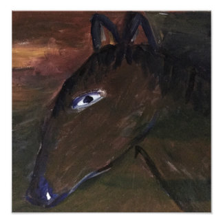 horse photo print
