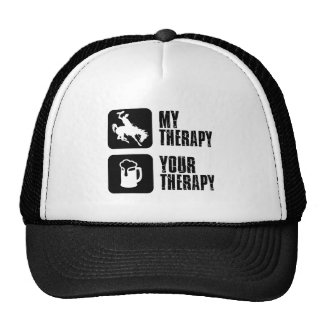 horse polo my therapy designs cap