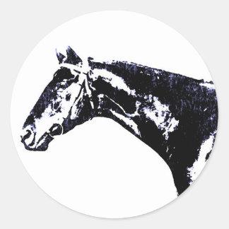 Horse Pop Art Sticker