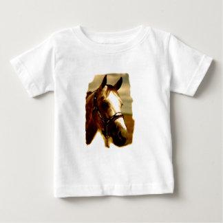 Horse Portrait Baby T-Shirt