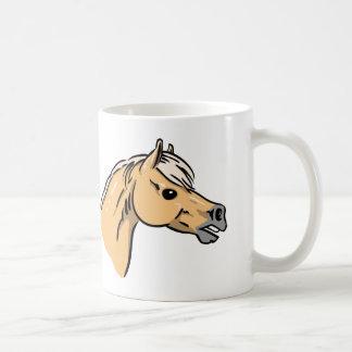 Horse Portrait Basic White Mug