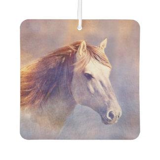 Horse portrait car air freshener