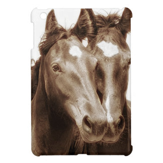 Horse Portrait III Cover For The iPad Mini