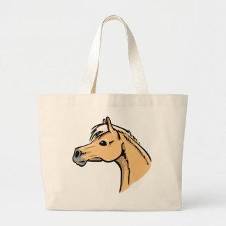 Horse Portrait Jumbo Tote Bag
