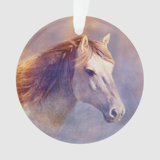 Horse portrait ornament