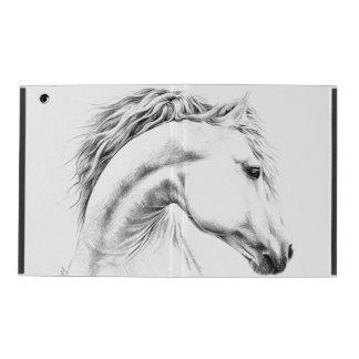 Horse portrait pencil drawing iPad 2/3/4 Case