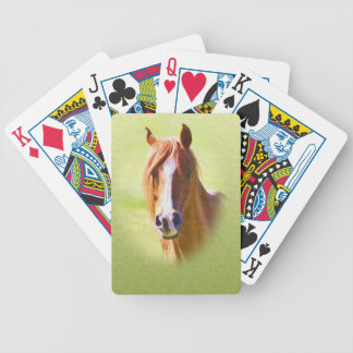Horse Portrait Playing Cards