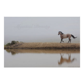 Horse poster, western art, huge poster, gorgeous poster