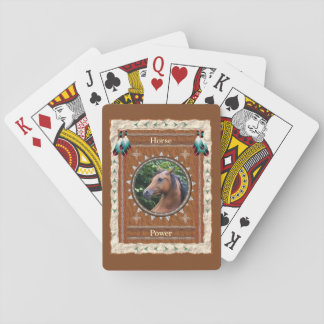 Horse  -Power- Classic Playing Cards