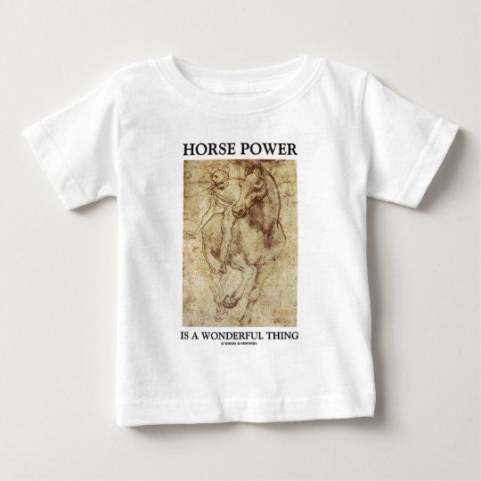 Horse Power Is A Wonderful Thing Leonardo da