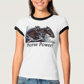 Horse Power!- Percheron Horses T-Shirt