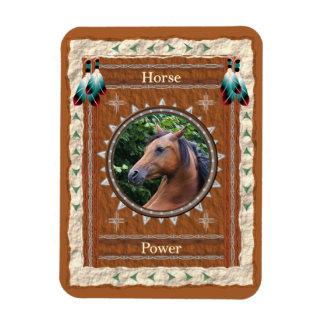 Horse  -Power- Vinyl Flexi Magnet
