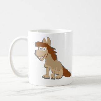 Horse powered coffee mug