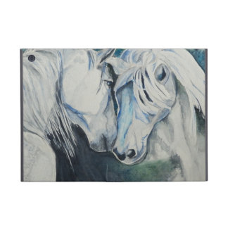 Horse Powis iCase iPad Mini case, Blue iPad Mini Cover