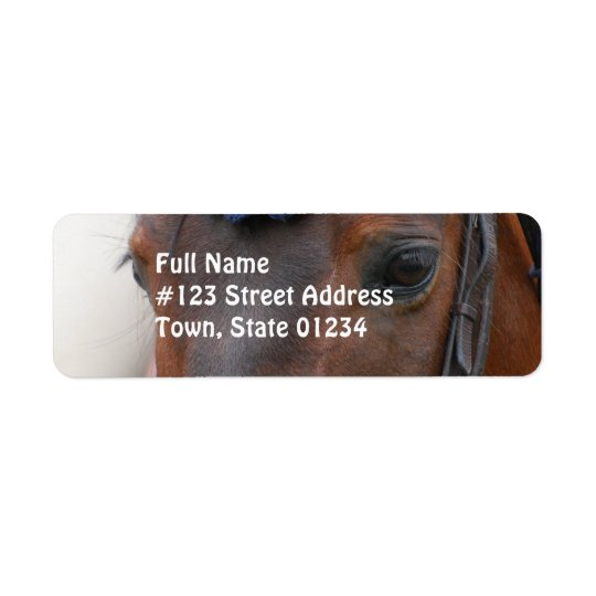 Horse Profile Mailing Label