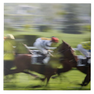 horse race 2 large square tile