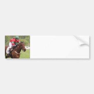 Horse Race Bumper Sticker