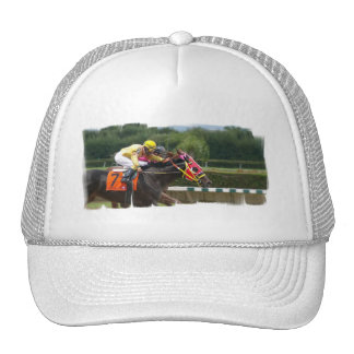 Horse Race Finish Baseball Hat