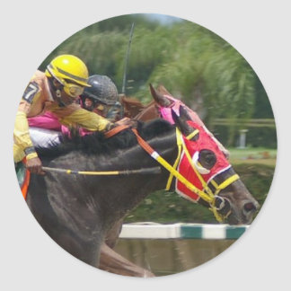 Horse Race Finish Sticker