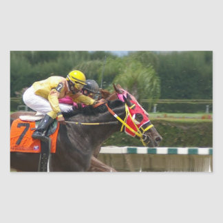 Horse Race Finish Sticker
