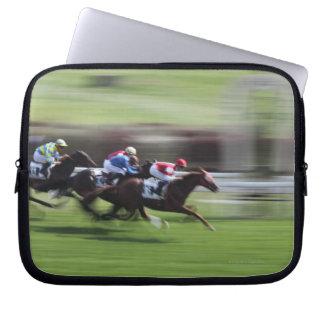 horse race laptop sleeve