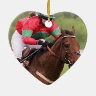 Horse Race Ornament