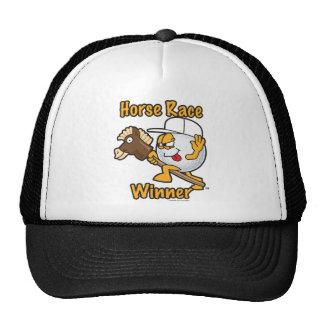 Horse Race Winner Hole Prize For Golf Tournament Trucker Hat