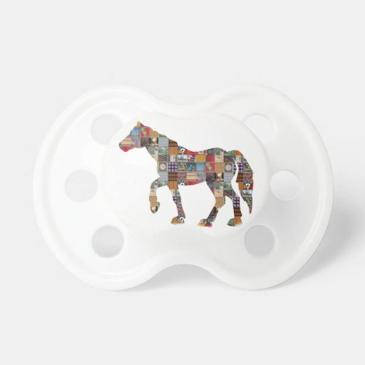 HORSE RaceClub Gamble Polo Striker NVN692 GIFTS Baby Pacifier