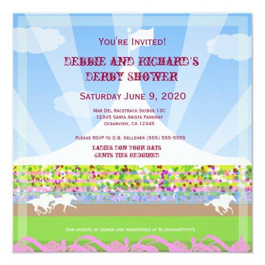 Horse Racetrack Jack & Jill Shower Party -