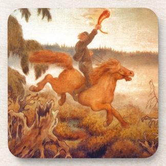Horse Racing Across the Grass 1902 Coaster