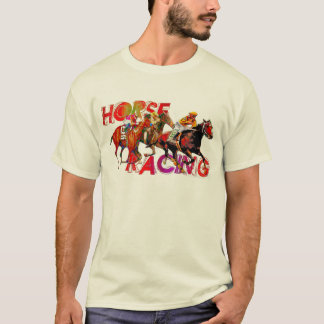 Horse Racing Action T-Shirt