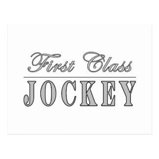 Horse Racing and Jockeys First Class Jockey Postcard