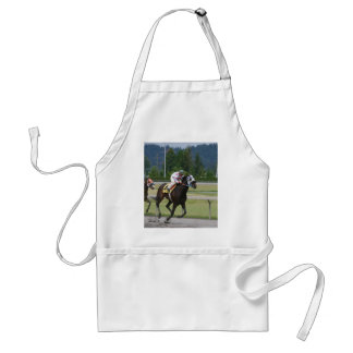 Horse racing adult apron