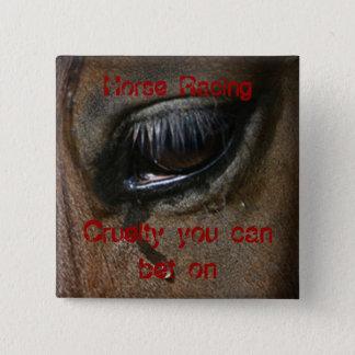 Horse Racing Badge