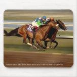 Horse Racing - Bar-bar-o Mousepad