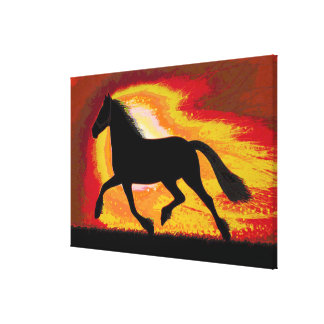 """Horse Racing Club 36 x 24"""" Wrapped Canvas Gallery Wrapped Canvas"""