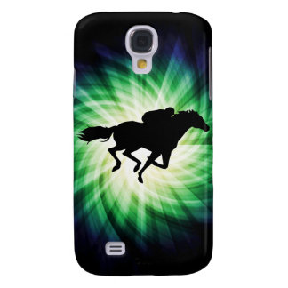 Horse Racing; Cool Galaxy S4 Case