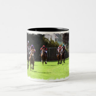 Horse Racing Field Coffee Mug