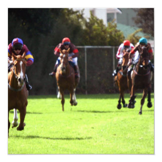 Horse Racing Field Invitations