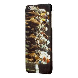 Horse Racing iPhone-6-6s-Plus-Glossy-Finish-Case iPhone 6 Plus Case