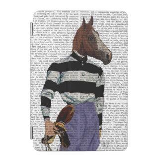 Horse Racing Jockey Portrait iPad Mini Cover