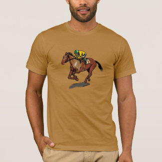 Horse Racing Mens T-Shirt
