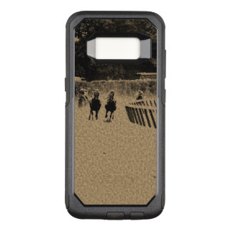 Horse Racing Muddy Track Grunge OtterBox Commuter Samsung Galaxy S8 Case