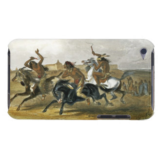 Horse Racing of Sioux Indians near Fort Pierre, pl Barely There iPod Cover