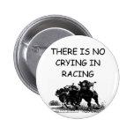 horse racing pinback button