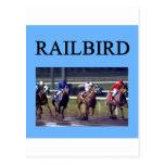 HORSE RACing railbird