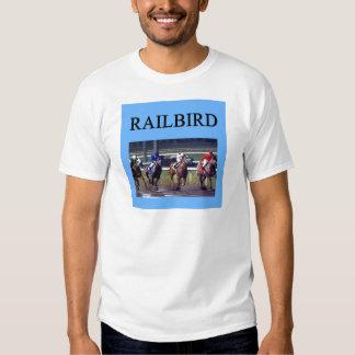 HORSE RACing railbird T-shirts