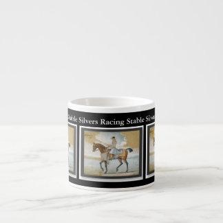 Horse Racing Sire Godolphin Arabian Customizable Espresso Cup