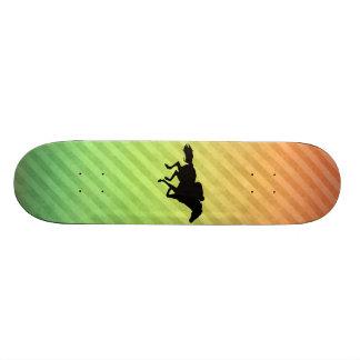 Horse Racing Skate Deck