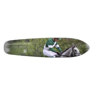Horse Racing Custom Skateboard